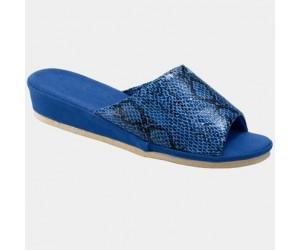 La Mia Pantoffels per 2 paar blauw & pink