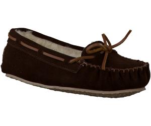 Bruine Minnetonka pantoffel CALLY SLIPPER