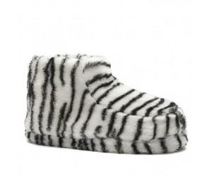 Zebra pantoffels