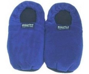 Volatile Warmies Slippies Maat 36-40 Verwarmbare Pantoffels Blauw 1paar