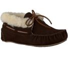 Bruine Minnetonka Pantoffels CHRISSY BOOTIE