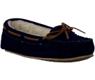 Blauwe Minnetonka pantoffel CALLY SLIPPER